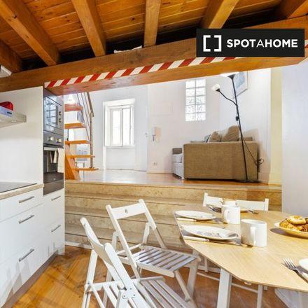 Rent this 1 bed apartment on Cacita Cafe in Rua de São Paulo, 1200-429 SÃO PAULO Lisbon