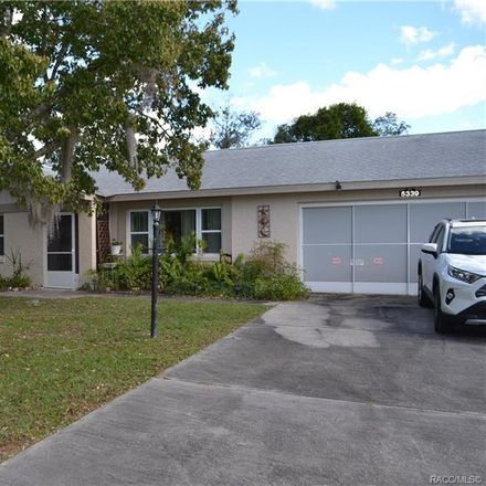 Rent this 2 bed house on 5339 South Forest Terrace in Homosassa Springs, FL 34446