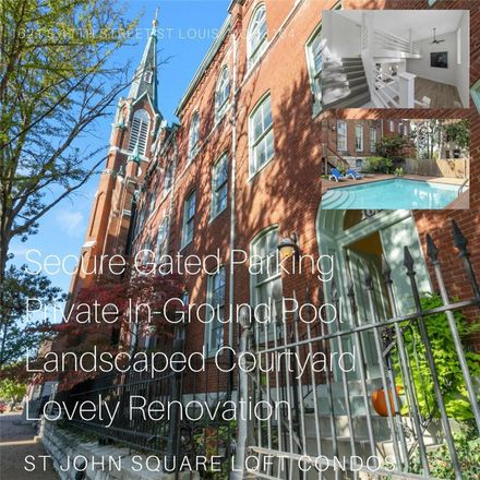 Rent this 2 bed loft on 1621 South 11th Street in St. Louis, MO 63104