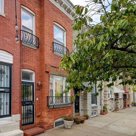 Rent this 2 bed townhouse on 228 South Highland Avenue in Baltimore, MD 21224