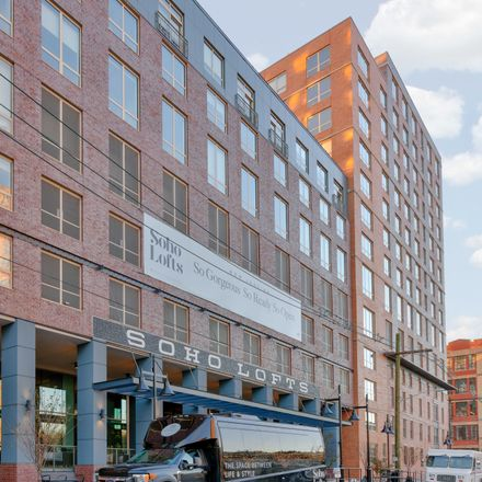 Rent this 1 bed apartment on SOHO Lofts in 16th Street, Jersey City