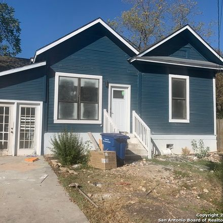 Rent this 3 bed house on 911 Aransas Avenue in San Antonio, TX 78210