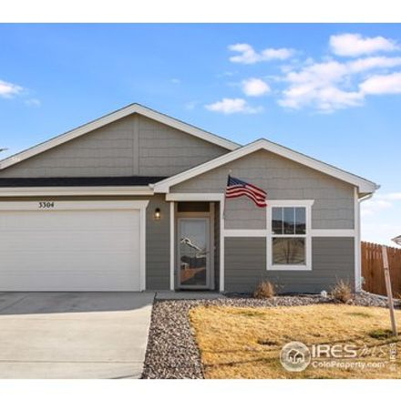 Rent this 2 bed house on 3304 Sheltered Harbor Drive in Evans, CO 80620
