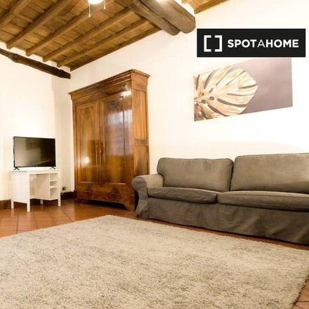 Rent this 1 bed apartment on Palazzo Baldassini in Vicolo della Vaccarella, 00186 Rome Roma Capitale
