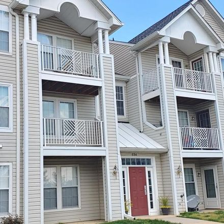 Rent this 2 bed condo on 694 Winding Stream Way in Odenton, MD