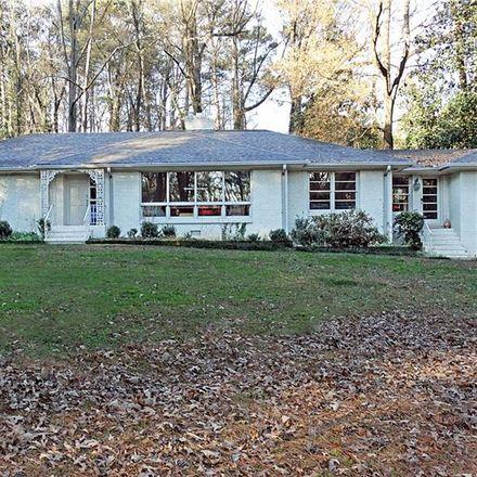 Rent this 4 bed house on West Wesley Road Northwest in Atlanta, GA 30327
