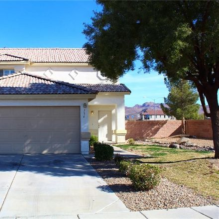 Rent this 3 bed house on 734 Goshawk St in Henderson, NV