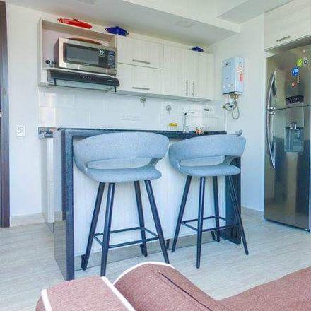 Rent this 1 bed apartment on Edificio Oslo in Carrera 29 #6-24, Comuna 14 - El Poblado