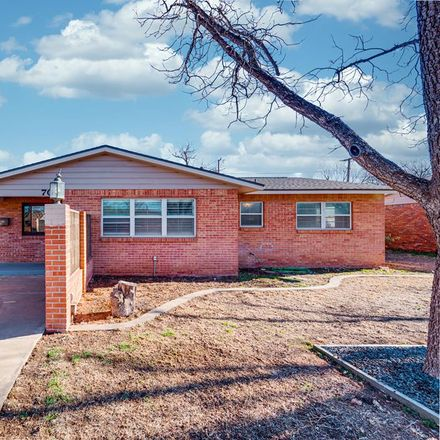 Rent this 3 bed house on 704 Dellwood Street in Midland, TX 79703