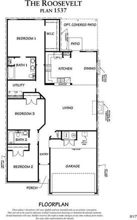 Rent this 3 bed apartment on Jarrell