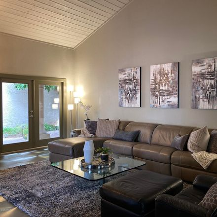 Rent this 3 bed townhouse on North 84th Street in Scottsdale, AZ 85258