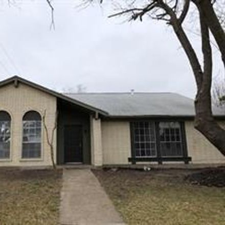 Rent this 3 bed house on 2437 Creekdale Drive in Garland, TX 75044