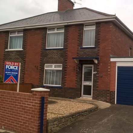 Rent this 3 bed house on 11 Attwyll Avenue in Exeter EX2 5HN, United Kingdom