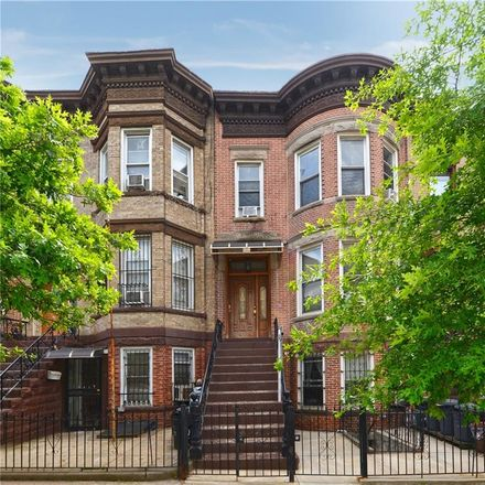 Rent this 6 bed townhouse on 50th Street in New Utrecht Avenue, New York