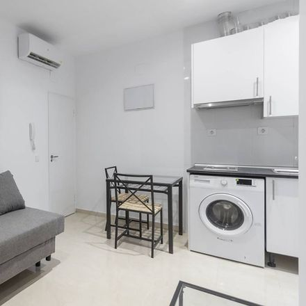 Rent this 1 bed apartment on Calle Antonio Prieto in 28026 Madrid, España