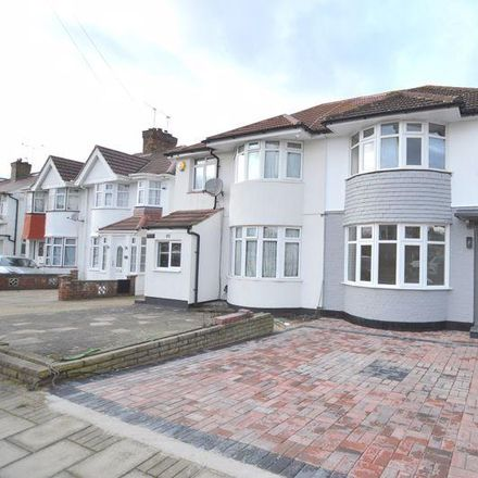 Rent this 3 bed house on Twyford Road in London HA2 0SH, United Kingdom