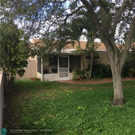 Rent this null bed duplex on 5819 Southwest 26th Street in West Park, FL 33023