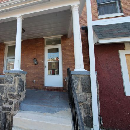 Rent this 3 bed townhouse on 703 Bartlett Avenue in Baltimore, MD 21218