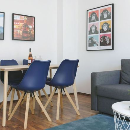 Rent this 1 bed apartment on Pettenkoferstraße 11 in 10247 Berlin, Germany