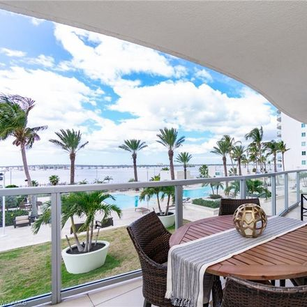 Rent this 2 bed condo on 3000 Oasis Grand Blvd in Fort Myers, FL 33916