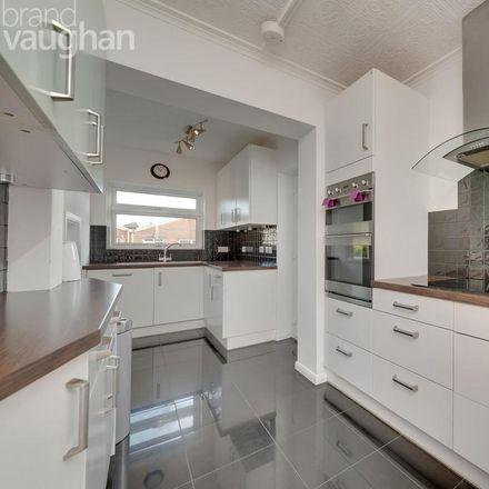 Rent this 4 bed house on Aldrington Avenue in Hove BN3 7EN, United Kingdom