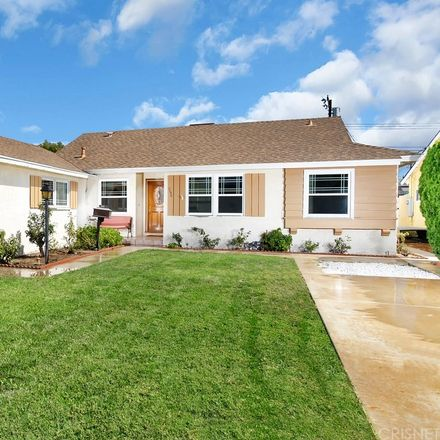 Rent this 3 bed house on 7752 Glassport Avenue in Los Angeles, CA 91304