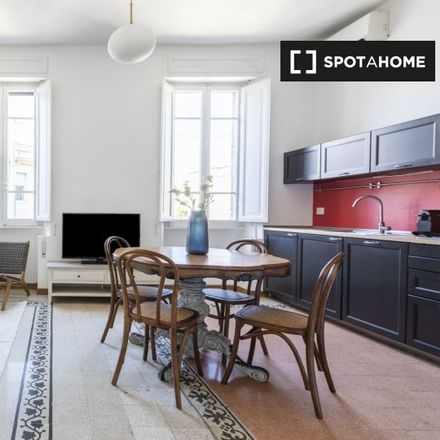 Rent this 2 bed apartment on Via Portuense in 00151 Rome RM, Italy
