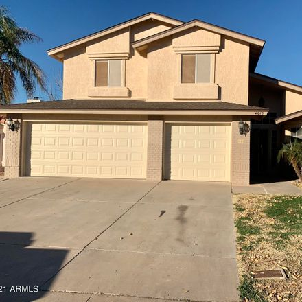 Rent this 4 bed house on 4010 W Creedance Blvd in Glendale, AZ