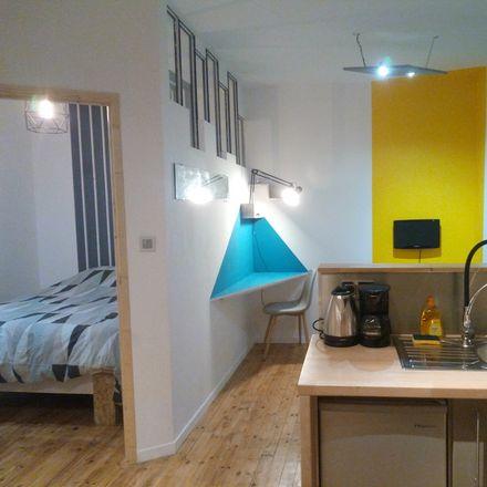 Rent this 1 bed apartment on Saint-Étienne in AUVERGNE-RHÔNE-ALPES, FR