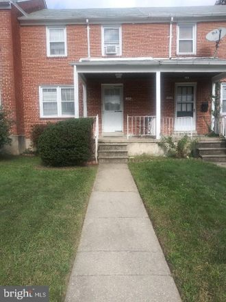 Rent this 2 bed townhouse on 1342 Cedarcroft Road in Baltimore, MD 21239