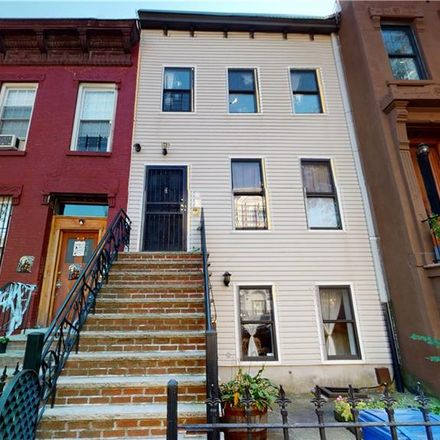 Rent this 3 bed townhouse on 722 Madison Street in New York, NY 11221