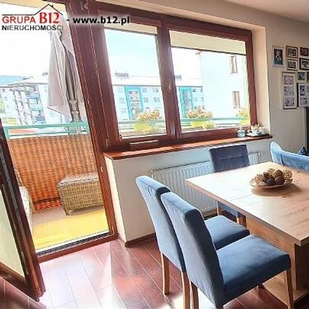 Rent this 4 bed apartment on Wojciecha Marii Bartla in 32 Krakow, Poland