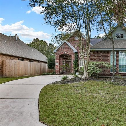 Rent this 3 bed house on 1718 Mills Creek Ct in Humble, TX