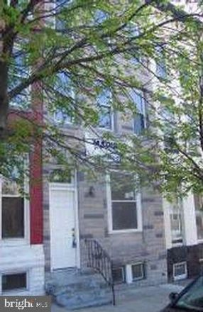 Rent this 4 bed townhouse on 1229 Cloverdale Road in Baltimore, MD 21217