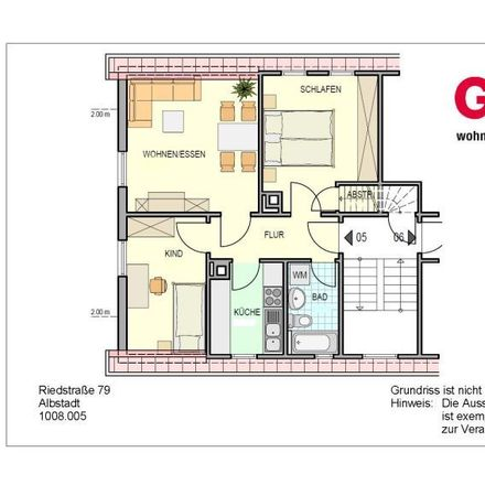 Rent this 3 bed loft on Riedstraße 77 in 72458 Albstadt, Germany