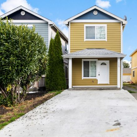 Rent this 3 bed house on 7229 East G Street in Tacoma, WA 98404