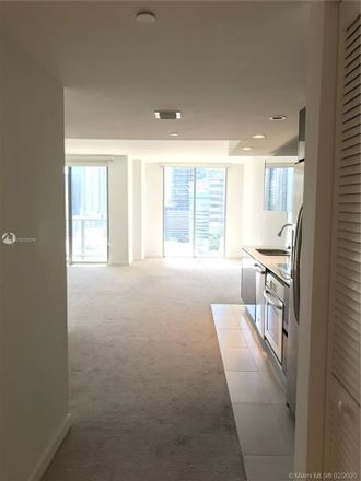 Rent this 1 bed apartment on 31 SE 6th St in Miami, FL 33131