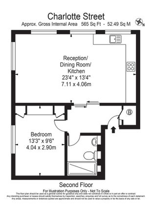 Rent this 1 bed apartment on Navarro's in 67 Charlotte Street, London W1T 1RS