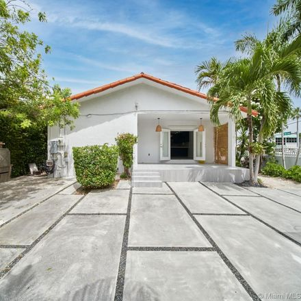 Rent this 4 bed house on 1300 71st Street in Isle of Normandy, Miami Beach