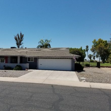 Rent this 3 bed house on 10409 W Wininger Cir in Sun City, AZ