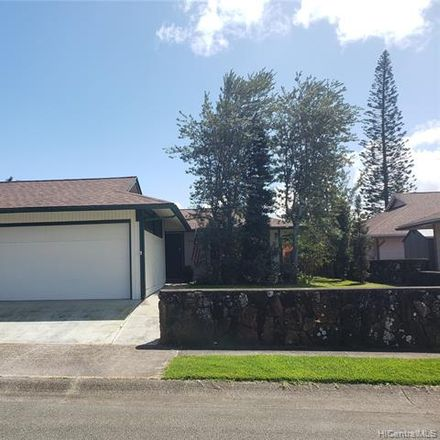 Rent this 3 bed house on Hinalii St in Mililani Town, HI