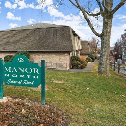 Rent this 2 bed condo on 180 Colonial Road in Stamford, CT 06906