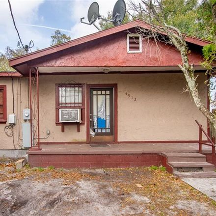 Rent this 2 bed house on 4512 North 35th Street in Tampa, FL 33610