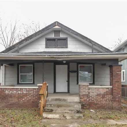 Rent this 2 bed house on 917 North Parker Avenue in Indianapolis, IN 46201