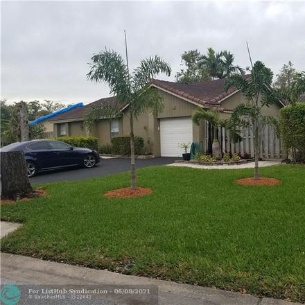 Rent this 3 bed house on 1225 Northwest 89th Drive in Coral Springs, FL 33071