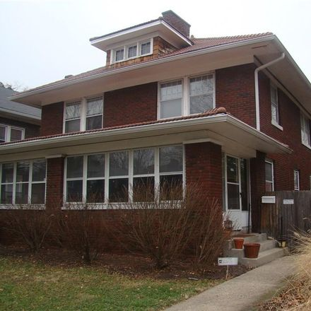 Rent this 3 bed condo on 4033 Central Avenue in Indianapolis, IN 46205