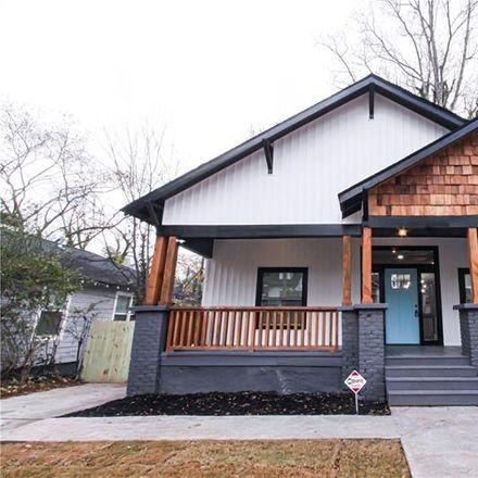 Rent this 3 bed house on 1450 Beecher Street Southwest in Atlanta, GA 30310