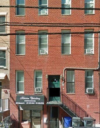 Rent this 1 bed apartment on 324 Monroe Street in Hoboken, NJ 07030