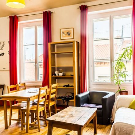 Rent this 0 bed apartment on Rue Célu in 69004 Lyon, France