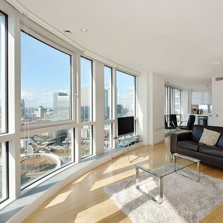 Rent this 1 bed apartment on Ontario Tower in 4 Fairmont Avenue, London E14 9JD